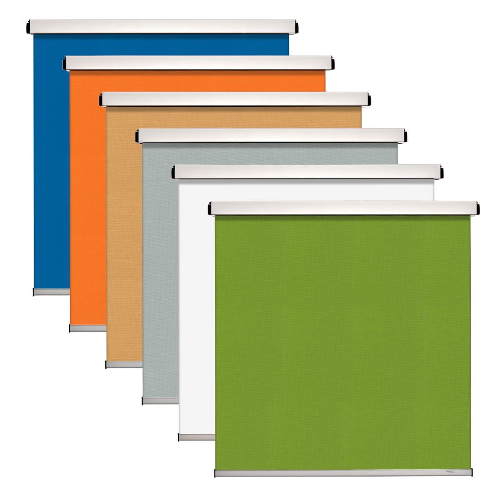 Collage Sonnenschutz Elektrorollo Farben