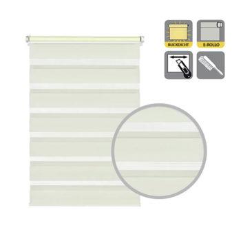 Sonnenschutz Elektrorollo Easyfix Doppelrollo creme ausschnitt.jpg