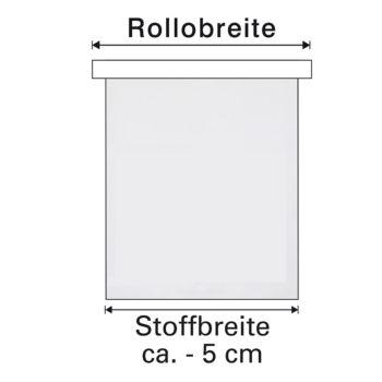 Sonnenschutz Elektrorollo Easyfix Doppelrollo mocca Stoffbreite