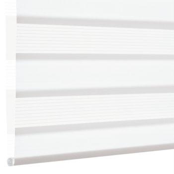 Sonnenschutz Elektrorollo Easyfix Doppelrollo weiss einbau 2