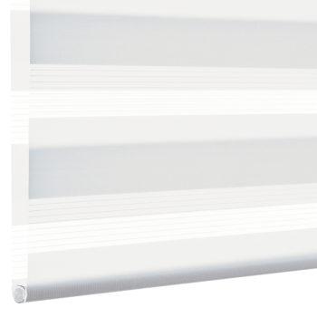 Sonnenschutz Elektrorollo Easyfix Doppelrollo weiss einbau 3