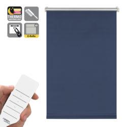 Sonnenschutz Elektrorollo Easyfix Thermo blau