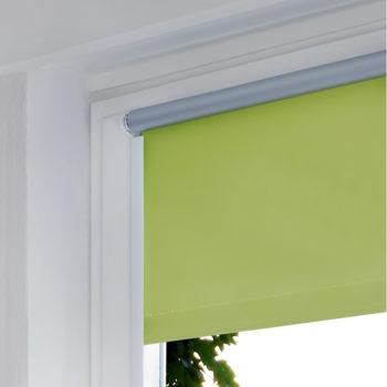 Sonnenschutz Elektrorollo Easyfix Thermo gruen apfel Zimmer 2