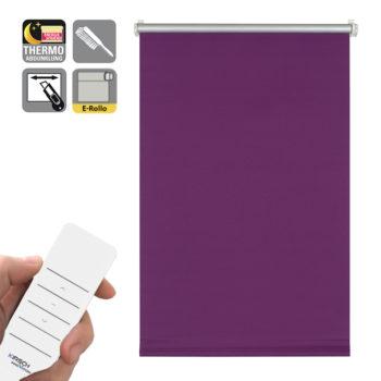 Sonnenschutz Elektrorollo Easyfix Thermo lila