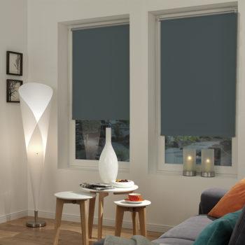 Sonnenschutz Elektrorollo Easyfix Thermo schiefer Zimmer 1