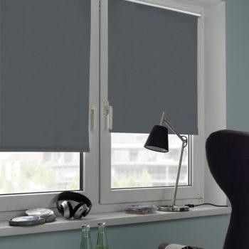 Sonnenschutz Elektrorollo Easyfix Thermo schiefer Zimmer 3