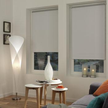 Sonnenschutz Elektrorollo Easyfix Thermo weiss Zimmer 1