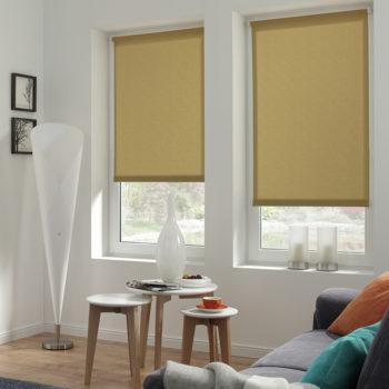 Sonnenschutz Elektrorollo Easyfix Uni braun Struktur Zimmer 2