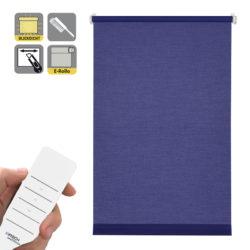 Sonnenschutz Elektrorollo Easyfix Uni dunkelblau