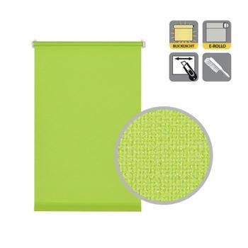Sonnenschutz Elektrorollo Easyfix Uni gruen apfel Lupe