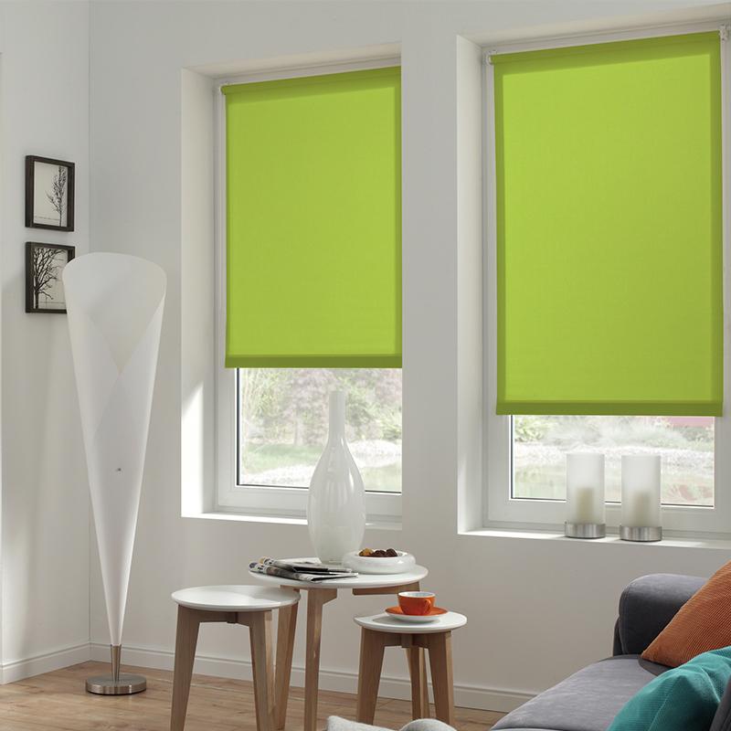 Sonnenschutz Elektrorollo Easyfix Uni gruen apfel Zimmer 2