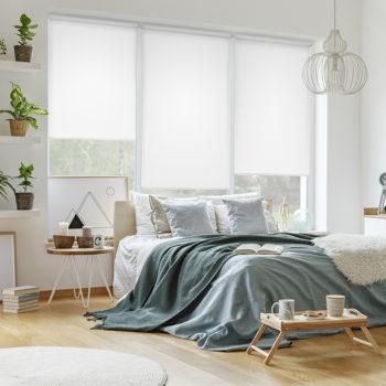Sonnenschutz Elektrorollo Easyfix Uni reinweiss Zimmer 1