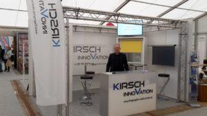 Messestand Kontakta 2018 - Kirsch Innovation
